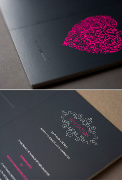 Invitations for barbara and antony 39s wedding and you must check out