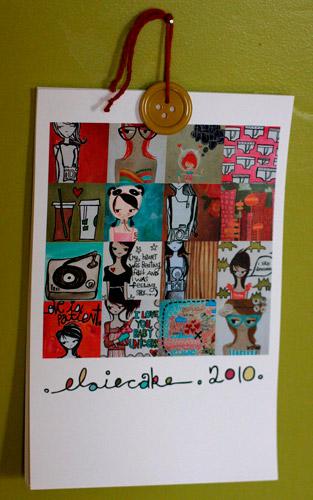 Elsiecake 2010 Calendar