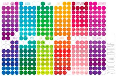 Melissa Design 2010 Calendar