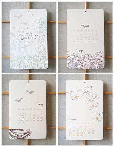 Albertine Press 2010 Calendar