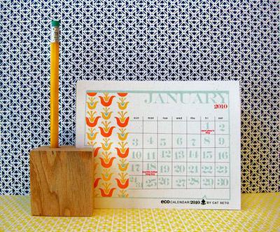 Cat Seto 2010 Calendar