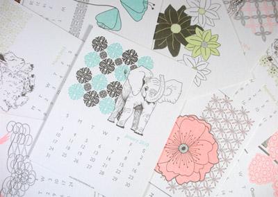 Delphine 2010 Calendar