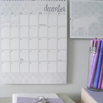 Letter C Design 2010 Calendar