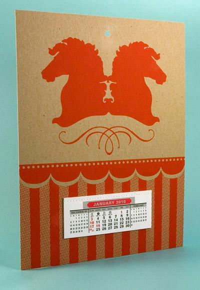 Two Trick Pony 2010 Calendar