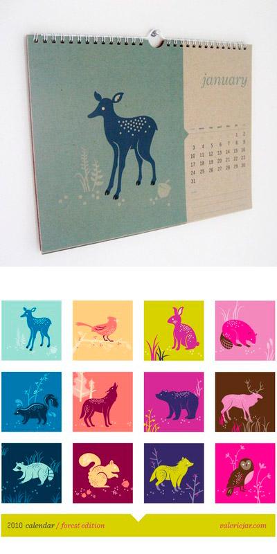 Valerie Jar 2010 Calendar