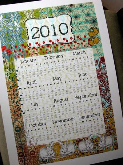 Michelle Brusegaard Poster Calendar