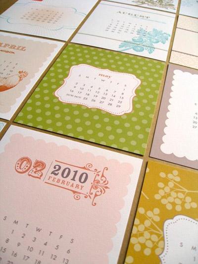 Paper & Inkling 2010 Calendar