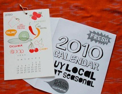 Claudia Pearson 2010 Calendar