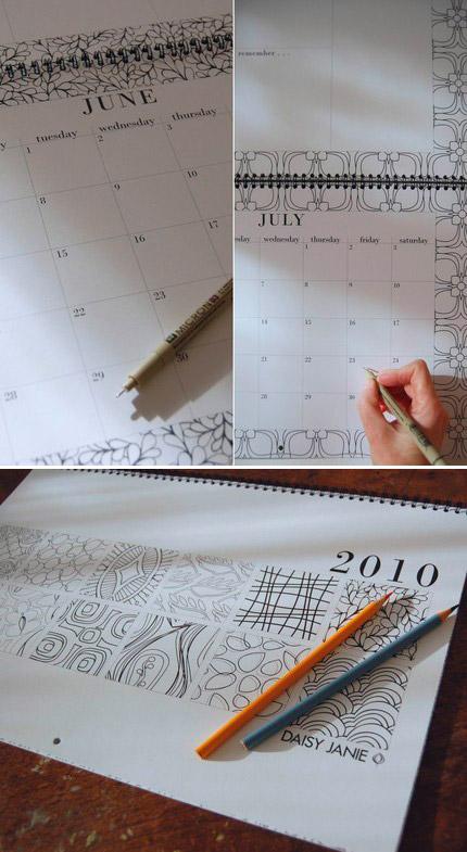 Daisy Janie 2010 Calendar