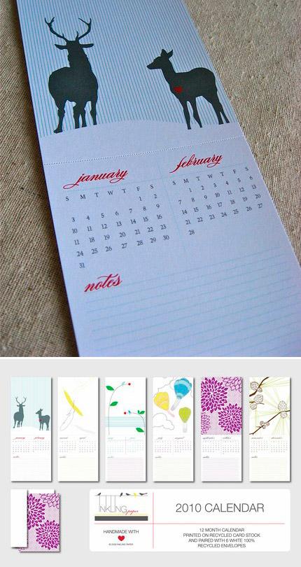 Inkling Paper 2010 Calendar