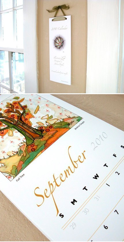 Jessica Doyle Illustrated 2010 Calendar