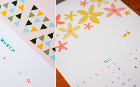 Eco Friendly Calendar