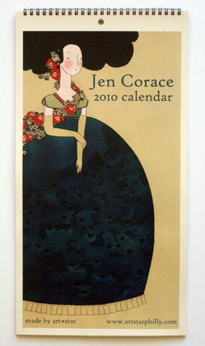 Jen Corace Calendar