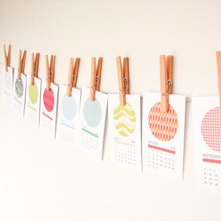 Olive Manna Printable Calendar