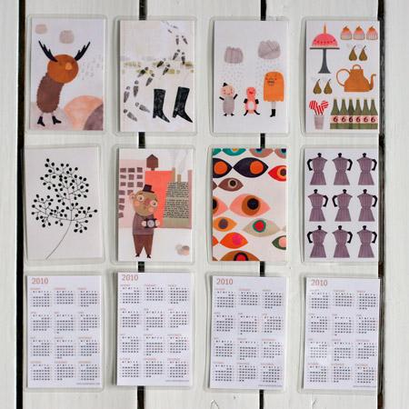 Sandra Juto Pocket Calendar