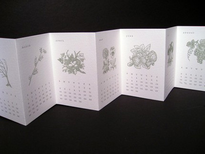 albertine press calendar09 More 2009 Calendars   Albertine Press