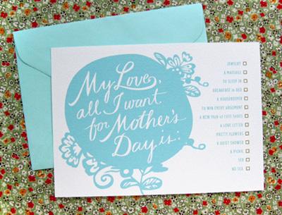 Ambrosia Girl Mother's Day Printable