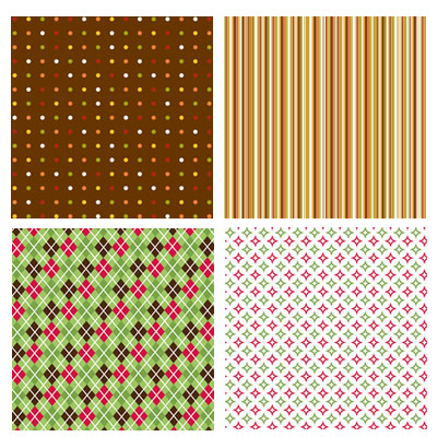 American Crafts Patterned Scrapbooking Papers