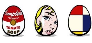 Art Egg Icons