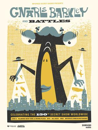 My Associate Cornelius Gig Posters