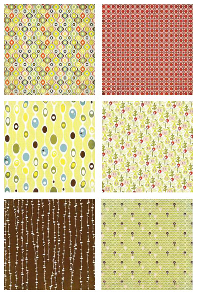 Offbeat Scrapbooking Paper by Basic Grey