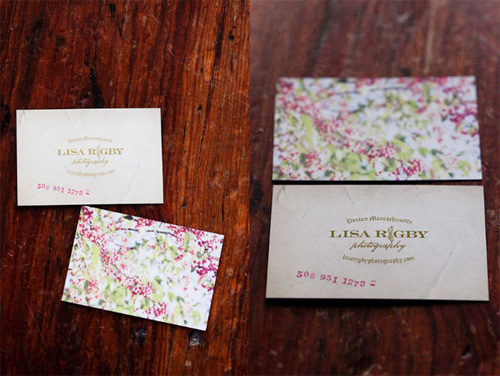 Lisa Rigby Business Cards