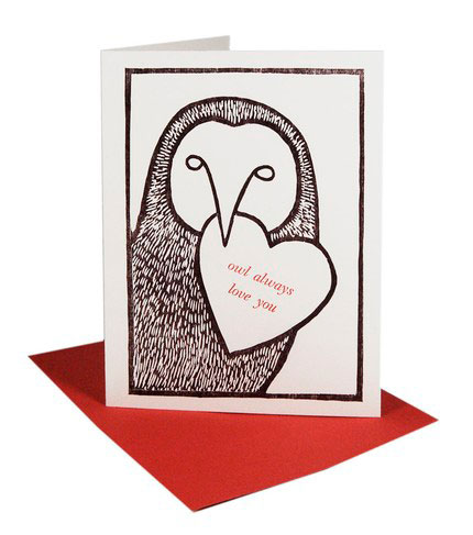 Bowerbox Press Woodcut Letterpress Cards
