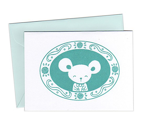 Bubbledog Note Cards