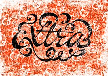 Bubbo Tubbo Calligraphy