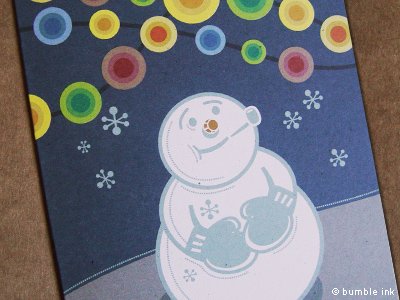 Bumble Ink Holiday Cards