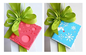 Carolyn Roehm Bright Christmas Gift Tags