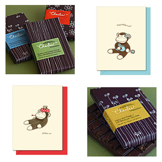 Charles Chocolates + Hello! Lucky Letterpress Cards