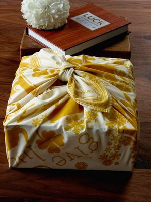Organic Cotton Gift Wrap