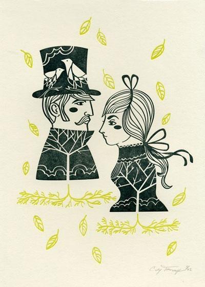 Cindy Tomczyk Letterpress Prints