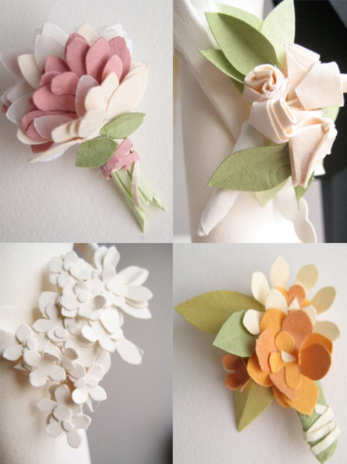 Concarta Paper Cake Toppers