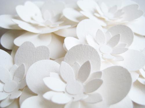 Concarta Paper Wedding Cake Toppers | Paper Crave