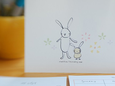 Creative Thursday Bunny and Peep Cards