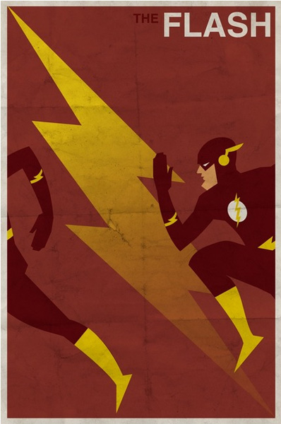 DC Comic Posters. - via Behance Network. images from Michael Myers/Imagekind