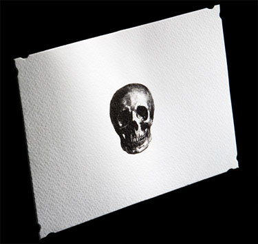 D.L. & Co. Little Skull Stationery