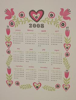 Dutch Door Press Calendar