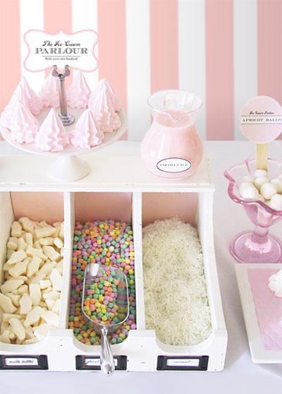 Ice Cream Parlor Printables