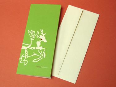 Earmark Reindeer Cards