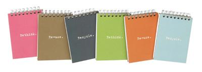 Ecojot 100% Recycled Notepad