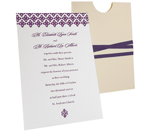 Princess Eco Friendly Wedding Invitations