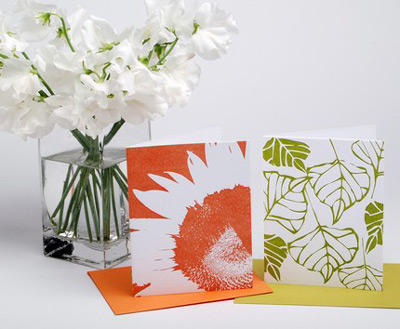 Sarah Marie Designs Letterpress Cards