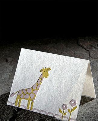 Smock Letterpress Bamboo Paper