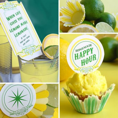 Farouche Lemonade Printables