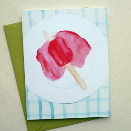 Popsicle Greeting Cards Fine Day Press