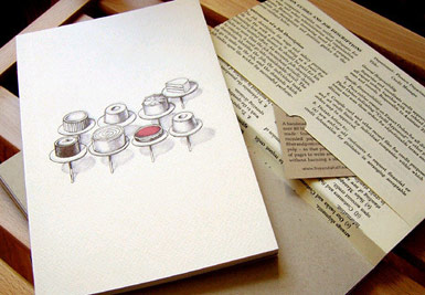 Five and a Half Thiebaud's Cakes Journal