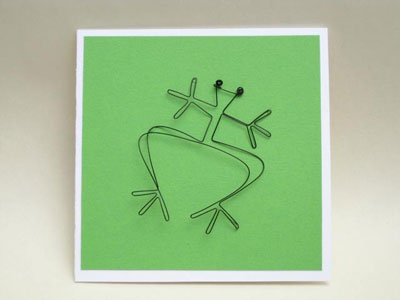 Fold Paper and Wire Cards